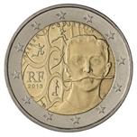 Foto de 2013 FRANCIA 2 EUROS PIERRE de COUBERTIN