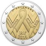 Foto de 2014 FRANCIA 2 EUROS SIDA
