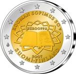 Foto de 2007 FINLANDIA 2 EUROS TRATADO ROMA