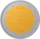 Foto de 2007 FINLANDIA 2 EUROS INDEPENDENCIA