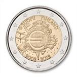 Foto de 2012 FINLANDIA 2 EUROS X Aniv. ENTRADA EURO