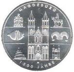 Foto de 2005-A ALEMANIA 10 EUROS MAGDEBURG