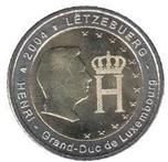 Foto de 2004 LUXEMBURGO 2 EUROS GRAN DUQUE HENRI