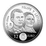 Foto de 2004 ESPAÑA 12 EUROS BODA REAL S/C