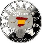 Foto de 2020 ESPAÑA 30 EUROS LUCHA CONTRA COVID