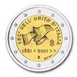 Foto de 2011 ITALIA 2 EUROS 150 An. UNIFICACION ITALIA