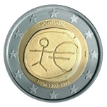 Foto de 2009 PORTUGAL 2 EUROS 10 Anv. EMU