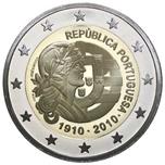 Foto de 2010 PORTUGAL 2 EUROS CENT. REPUBLICA