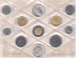 Foto de 1988 ITALIA SET 11 piezas ( 2 de 500 liras )