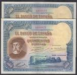 Foto de 1935/01/07 II REPUBLICA 500 PTAS PAREJA. Ord.Cat.11