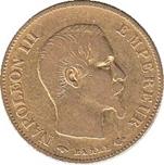 Foto de 1859 FRANCIA 10 FRANCOS NAPOLEON III
