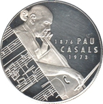Foto de 1993 25 ECU P PAU CASALS