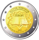 Foto de 2007 BELGICA 2 EUROS TRATADO ROMA