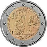 Foto de 2017 ESLOVAQUIA 2 EUROS UNIVERSIDAD ISTROPOLITANA