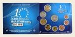 Foto de 2015 ESLOVAQUIA SET EUROS 8p+MEDALLA MARTATHON