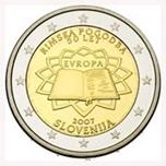Foto de 2007 ESLOVENIA 2 EUROS TRATADO ROMA