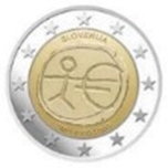 Foto de 2009 ESLOVENIA 2 EUROS X Aniv.EMU