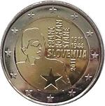 Foto de 2011 ESLOVENIA 2 EUROS FRANC ROZMAN STANE
