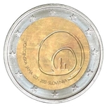 Foto de 2013 ESLOVENIA 2 EUROS POSTOJNA