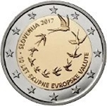 Foto de 2017 ESLOVENIA 2 EUROS ANIVERSARIO EURO