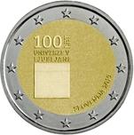 Foto de 2019 ESLOVENIA 2 EUROS UNIVERSIDAD LJUBLJANA