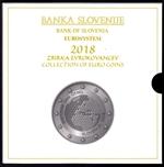Foto de 2018 ESLOVENIA SET 9p+3 EUROS