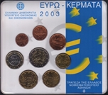 Foto de 2003 GRECIA SET EUROS 8p.