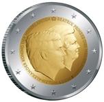 Foto de 2014 HOLANDA 2 EUROS DOBLE RETRATO