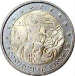 Foto de 2005 ITALIA 2 EUROS CONSTITUCION EUROPEA