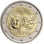 Foto de 2016 ITALIA 2 EUROS PLAUTO