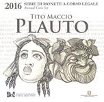 Foto de 2016 ITALIA SET 8p+ 2 Euros PLAUTO