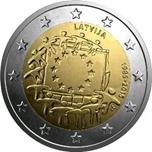 Foto de 2015 LETONIA 2 EUROS BANDERA EUROPEA