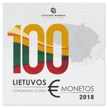 Foto de 2018 LITUANIA SET 9p EUROS