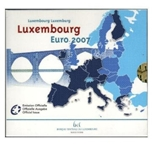 Foto de 2007 LUXEMBURGO EUROS SET 10p
