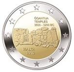 Foto de 2016 MALTA 2 EUROS TEMPLOS GGANTIJA
