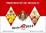 Foto de 2014 MONACO SET 8p EUROS FDC