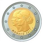 Foto de 2011 MONACO 2 EUROS BODA REAL