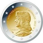 Foto de 2012 MONACO 2 EUROS SOBERANIA 1512-2012