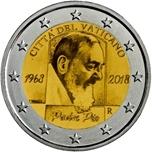 Foto de 2018 VATICANO 2 EUROS PADRE PIO