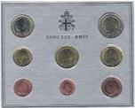 Foto de 2003 VATICANO EUROS SET 8p FDC
