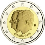 Foto de 2014 ESPAÑA 2 EUROS PROCLAMACIÓN FELIPE VI