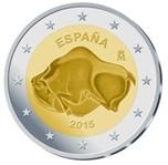 Foto de 2015 ESPAÑA 2 EUROS CUEVA ALTAMIRA