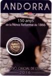 Foto de 2016 ANDORRA 2 EUROS REFORMA 1866