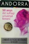 Foto de 2020 ANDORRA 2 EUROS SUFRAGIO UNIVERSAL
