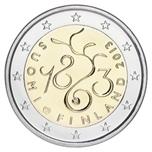 Foto de 2013 FINLANDIA 2 EUROS PARLAMENTO 1863