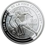 Foto de 2021 FIFA QATAR 10 EUROS MUNDIAL FUTBOL 2022