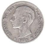 Foto de 1876*1876 ALF.XII 1 PTA. DEM. Ord.Cat.14