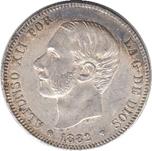 Foto de 1882*18-82 AL.XII 2 PESETAS MS M. Ord.Cat.18