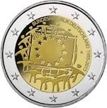 Foto de 2015 ALEMANIA 2 EUROS BANDERA EUROPEA