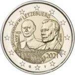 Foto de 2021 LUXEMBURGO 2 EUROS GRAN DUQUE JEAN